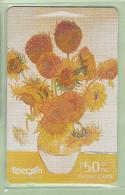 New Zealand - 1997 Art Collection - $50 Sunflowers - NZ-D-82 - Mint - Neuseeland