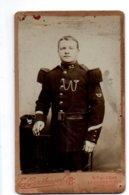 Réf. 656/ 1 Photo - CDV - Militaire En Studio (85) La Roche Sur Yon - Guerre, Militaire
