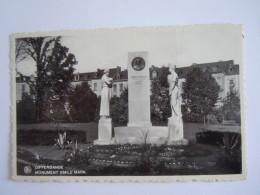 Differdange Monument Emile Mark 1938 Nels Edit Othon Anen Papeterie, Attention Tient Un Grand Pli. - Differdange