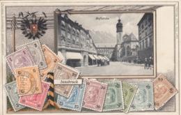 AK- Tirol - Innsbruck - Präge - Marken Karte - 1906 - Innsbruck