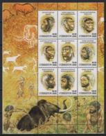 Uzbekistan (2002) Yv. 364/72  /  Prehistory - Archaeologie - Prehistoric - Fauna - Fossil - Préhistoire
