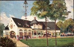 Artiste Cp Bruxelles Brüssel, Münchner Haus, Expo 1910 - Autres