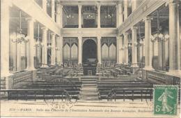 CPA Paris Salle Des Concerts De L'Institution Des Jeunes Aveugles - Arrondissement: 07