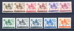 COLONIE 1942  AFRICA ORIENTALE - SEGNATASSE S18  MNH** - Tripolitania