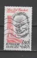 "FRANCE / 1983 / Y&T N° 2282 : ""Célébrités"" (Max-Pol Fouchet) - Usel - Frankrijk"