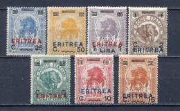 COLONIE 1924  ERITREA - SOMALIA SOPRASTAMPATI  S.18  MNH** - Tripolitania
