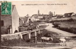 21 Arnay Le Duc, Vue Prise Du Pont De Bois - Arnay Le Duc