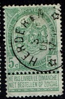 56  Obl Relais  Herderen   +15 - 1893-1907 Coat Of Arms