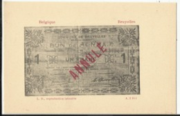 Argent De Nécessité - Noodgeld - Commune De .... Gemeente ....BRUYELLES (Antoing) - Monete (rappresentazioni)