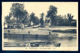 Cpa Du 33  Pauillac Le Chenal Gaët  LZ86 - Pauillac
