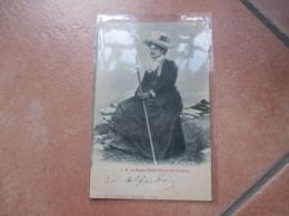 1900 S.M.La Regina Madre Margherita Di Savoia Abito Da Pastorella Viaggiata - Case Reali