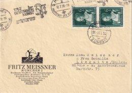 ALLEMAGNE 1939 LETTRE DE MÜNCHEN - Deutschland