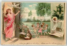 53090864 - Tannenduft Engel Elfen Weihnachten Neujahr Ostern Pfingsten - Postcards
