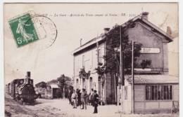 33 - T57497CPA - TROMPELOUP - PAUILLAC - La Gare , Arrivee Du Train Venant De Soulac - Bon état - GIRONDE - France