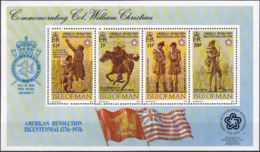 ISLE OF MAN 1976 Mi-Nr. Block 2 ** MNH - Man (Insel)