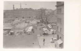 Foto AK - Wien Floridsdorf - Umbau Schlingermarkt - 60iger - Altri