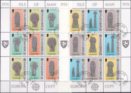 ISLE OF MAN 1978 Mi-Nr. 122/27 Kleinbbogen O Used - Aus Abo - Man (Insel)