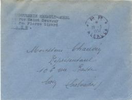 ORNE : PORT PAYÉ TàD * P.P. * ALENÇON Du 19-3-1952 - TEINTURERIE HENAULT-MOREL CAEN CALVADOS - Manual Postmarks