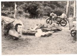 MOTO MOTORCYCLE PIAGGIO VESPA -  FOTO ORIGINALE 1957 - Altri