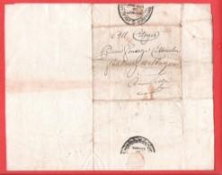 Précurseur Imprimé Répubique Française Département Ourthe LIEGE 12 Fructifor 77 Condamnation Saint Trond  Walburge - 1794-1814 (French Period)
