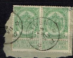 83 X 2  Obl Relais  Nethen  + 10 X 2 - 1893-1907 Coat Of Arms