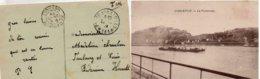 """CP- COBLENCE-  Cachet: """" T Et P *131*- EMS """" Armée Française Du Rhin-- - Storia Postale"""