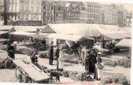 14: LISIEUX Le Marche Aux Fleurs Place Thiers - Lisieux
