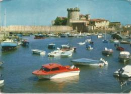 "CPA 64 SAINT JEAN DE LUZ Le Port De Socoa 1966 ""Le Pays Basque"" - Saint Jean De Luz"