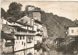 CPA 64 SAINT JEAN PIED DE PORT Maisons Basques Au Bord De La Nive 1952 - Saint Jean Pied De Port