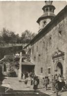 CPA 64 CIBOURE Le Parvis De L'Eglise à La Sortie De La Messe (belle Animation) 1949 - Ciboure