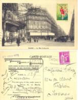 ANTITUBERCULEUX : JEUX ET SANTÉ 1933 Sur CP GALERIE LAFAYETTE - OMec FLIER PARIX 84 Du 18.IX 1933 - Antitubercolosi