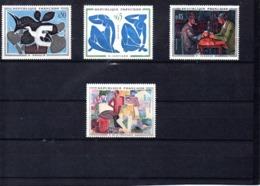 Francia Nº 1319-22 Pintura, Serie Completa En Nuevo 18 € - Francia