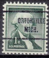 USA Precancel Vorausentwertung Preo, Locals Michigan, Ortonville 713 - Vereinigte Staaten