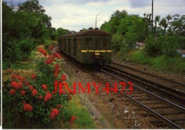 CPM - SAINT-CLOUD - Ligne S.N.C.F. De PUTEAUX à ISSY-PLAINE - Rame STANDARD 750 Volts - Juin 1985  Photo Serge BALIZIAUX - Eisenbahnen
