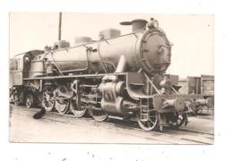 Locomotive- Carte Photo-(D.3435) - Eisenbahnen