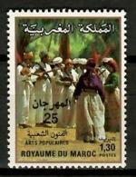 Morocco 1984 Marruecos / Folklore Festival Dance MNH Folklore Dances Kostüme / Kh19  10-7 - Otros