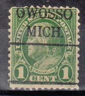 USA Precancel Vorausentwertung Preo, Locals Michigan, Owosso 632-479 - Vereinigte Staaten