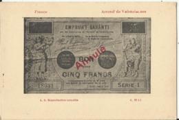 Argent De Nécessité - Arrondissement De VALENCIENNES - Monete (rappresentazioni)