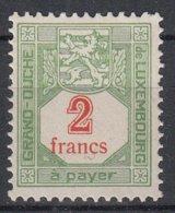 LUXEMBURG - Michel - 1922/35 - Nr 21 A - MNH** - Taxes