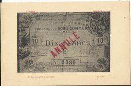 Argent De Nécessité - Arrondissement De CAMBRAI (Nord) - Monete (rappresentazioni)