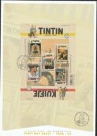 Bloc 242 TinTin /Kuifke  Op FDC Oblit / Gestp - Bloques 1962-....