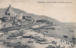 Z.277.  GENOVA -  Corso Italia E S. Pietro Alla Foce - Genova (Genoa)