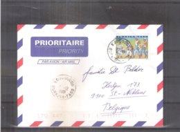 Lettre Du Burkina Faso Vers Belgique - 2001 (à Voir) - Burkina Faso (1984-...)