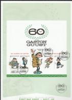 Bloc 246 Gaston Lagaffe /Guust Flater  Op FDC Oblit / Gestp - Blocs 1962-....