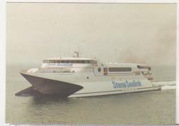 England Uncirculated Postcard - Ships - Ferries - Stena Sea Lynx I - Transbordadores