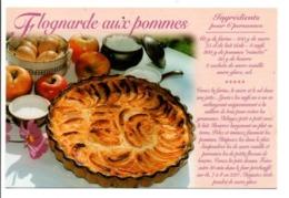 RECETTE - FLOGNARDE AUX POMMES - Recipes (cooking)