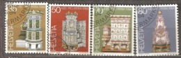 Switzerland: Pro Patria, Full Set Of 4 Used Stamps, Tile Stoves, 1984, Mi#1272-1275 - Pro Patria