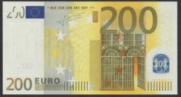 X GERMANY  200  EURO  E001  TRICHET  UNC - EURO