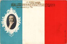 CPA AK La Marseillaise EMBOSSED POLITICS (981862) - Stickers
