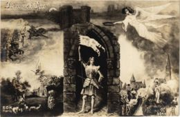 CPA AK Jeanne D'Arc POLITICS (981871) - Autocollants